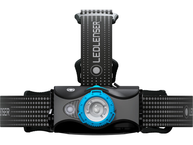 Led Lenser MH7 Faretto, black/blue